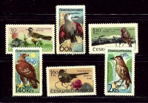 Czechoslovakia 1339-44 MNH 1965 Birds