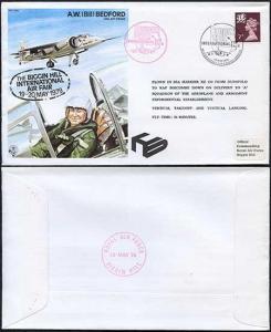 TP6c A.W. (Bill) Bedford OBE.AFC.FRAeS Standard Cover Flown in Sea Harrier XZ 4