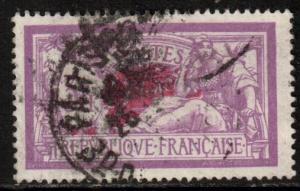 France Scott 129 - YT 240, 1927 Liberty/Merson 3f, used