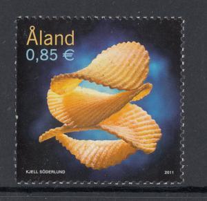 Aland MNH 2011 85c Potato chips