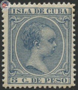Cuba 1896 Scott 146 | MNH | CU18127