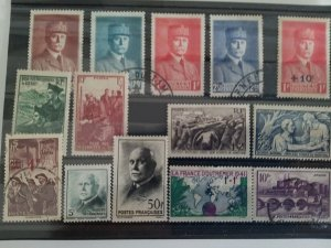 collection France Stamps 1941 Catague € 30