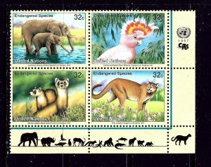 United Nations 703a MNH 1997 Endangered Species