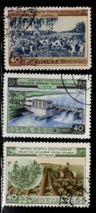 Russia Scott 1718-1720  Used CTO stamp set