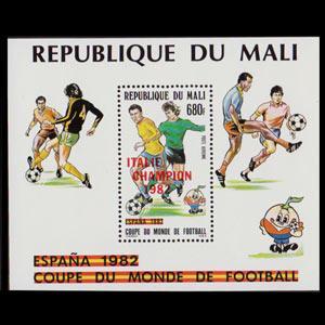 MALI 1982 - Scott# C461 S/S W.Cup Soccer Opt. NH