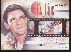 ANTONIO BANDARAS Souvenir Sheet #3060 MNH - Spain E14