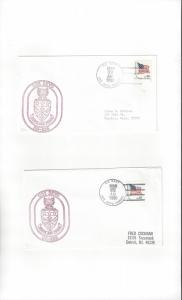 US Navy Covers USS Deyo DD 989