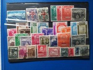 Lot Spain 1931-1941 used/unused CV: € 100 Free shipping