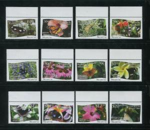 2013 Tonga Niuafo'ou Butterflies Postage Stamps #301-312 Mint Never Hinged Set