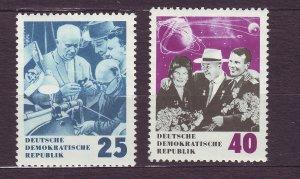 J23283 JLstamps 1964 germany DDR mnh set #693-4 kruschchev