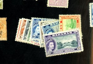 Bahamas #158-173 MINT FVF OG LH Cat$85