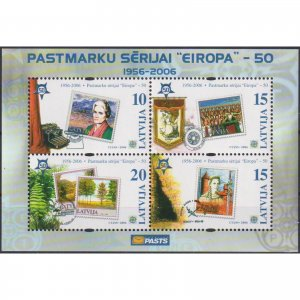 Latvia 2006 The 50th Anniversary of the First EUROPA Stamps  (MNH)  - Stamps on