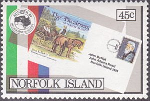 Norfolk Island # 345 mnh ~ 45¢ AUSIPEX '84 – First Day Cover