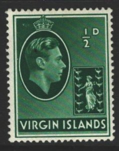 British Virgin Islands Sc#76 MH