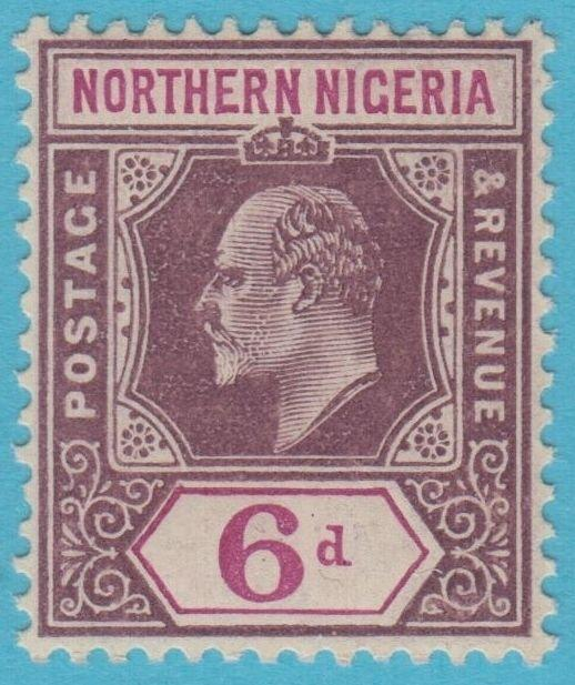 NORTHERN NIGERIA 34 MINT HINGED OG NO FAULTS EXTRA FINE