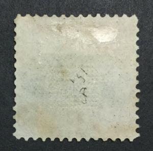MOMEN: US STAMPS #118 USED CLEAN