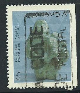 Canada SG 1407  Used Right margin imperf