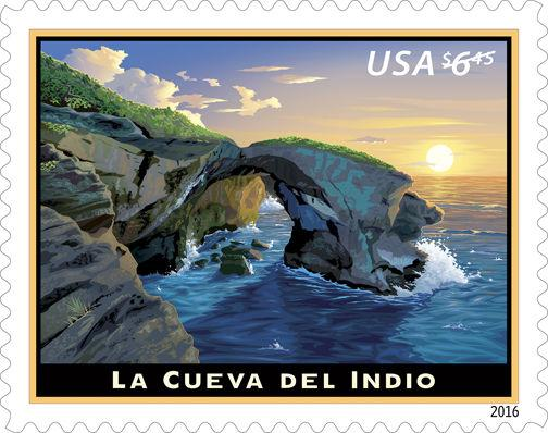 2016 $6.45 La Cueva Del Indio, Priority Mail Scott 5040 Mint F/VF NH