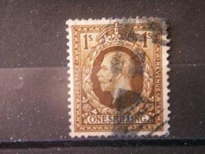 GREAT BRITAIN, 1936, used 1s, Scott 220, George V