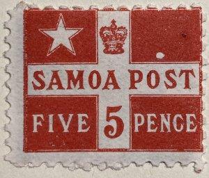 AlexStamps SAMOA #23 FVF Mint