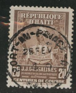 HAITI Scott C46 used airmail stamp