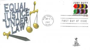 Jury Duty FDC from Toad Hall Covers!   #1 of 2