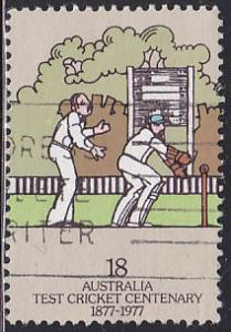 Australia 661 Wicket Keeper, Slipfieldsman 1977