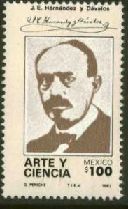 MEXICO 1509, J. E. Hernandez y Davalos, Historian MINT, NH. F-VF.