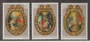 Liechtenstein Scott #1220-1221-1222 Stamps - Mint NH Set
