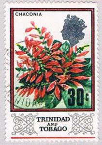 Trinidad & Tobago 154 Used Poinsettia 1969 (BP3175)