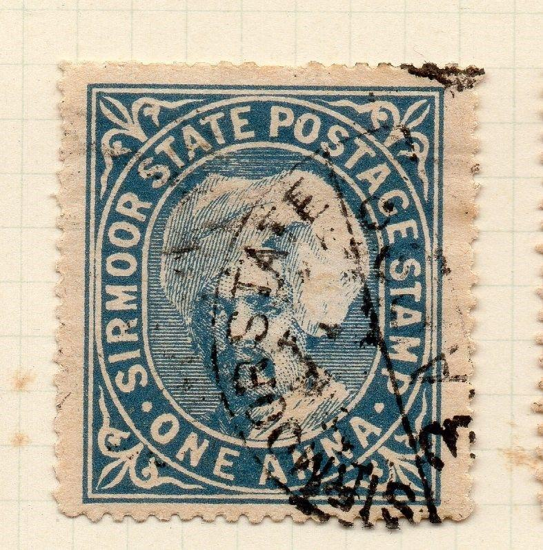 Indian States Sirmoor 1885-88 Early Issue Fine Used 1a. 194694