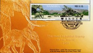 Namibia - 2003 Most Beautiful Stamp MS Used SG MS953
