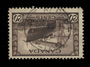 CANADA - 1945 - ST.ALBERT / ALTA.. CDS ON SG 386 - VERY FINE