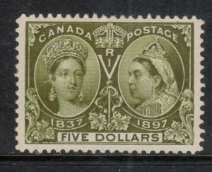 Canada #65 Extra Fine Mint Very Lightly Hinged **With Certificate**