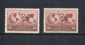 Australia 1934 SG 153,153a MH