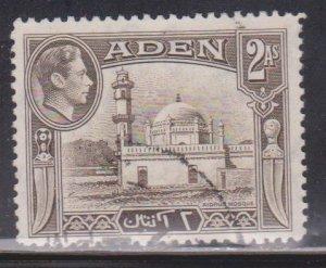 ADEN Scott # 20 Used - KGVI & Mosque