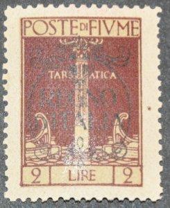 DYNAMITE Stamps: Fiume Scott #193 – MINT