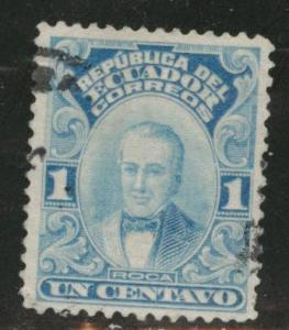 ECUADOR Scott 200 used  from 1911-28 President set