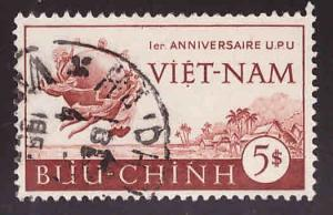 South Vietnam Scott 18 Used stamp