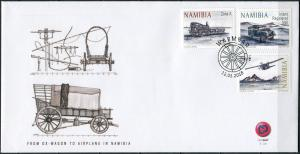 Namibia 2018. Means of transport (Mint) First Day Cover