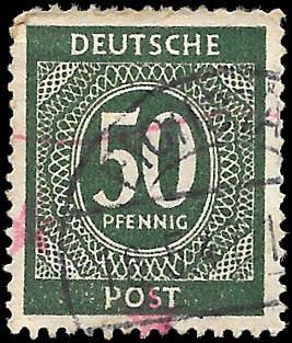 GERMANY 1946 SC# 551 - USED - NICE ALBUM SPACE FILLER