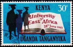 K.U.T. 1963 30c S.G.203 Fine Used