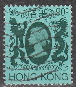 Hong Kong #396 F-VF Used  (V4032)
