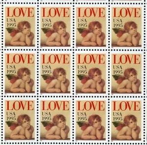 US Scott 2948 LOVE Mint NH Sheet of 50
