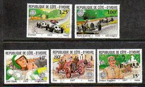 Ivory Coast Automobiles 611-5 CTO VF NH