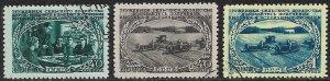 RUSSIA USSR 1950 FARMING Set Sc 1469-1471 CTO Used