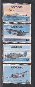 VANUATU SC# 560-63   FVF/MNH   1992