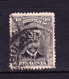 RHODESIA  1914-22  2d  BLACK   FU  P14  SG 209