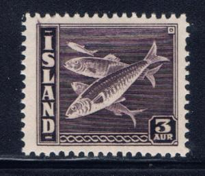 Iceland 218 NH 1939 issue