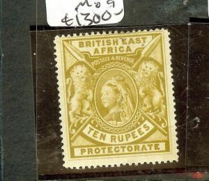 BRITISH EAST AFRICA (P3010B) QV 10R  LION  SG97X  MOG